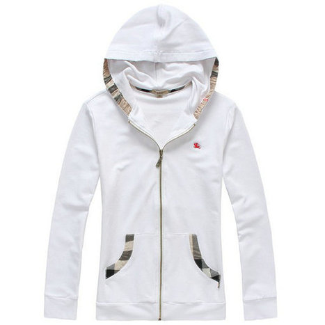 Burberry Hooded In Hat Zipper Beauty White For Women | Burberry Shirts mens and  womens | Scoop.it