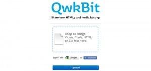 QwkBit, un servicio de alojamiento web temporal, sencillo y gratuito | Las TIC y la Educación | Scoop.it
