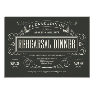 Rehearsal Dinners that are Unique too! | Invitations By Dannye | Scoop.it