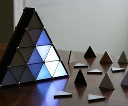 Making a great LED triangle | Open Source Hardware News | Scoop.it