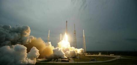 SpaceX Rocket Launches Turkmenistan's First Satellite   The NewSpace Daily   Scoop.it