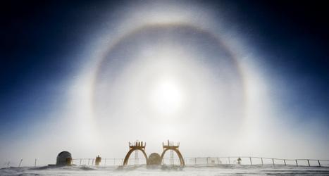 Halo of light crowns Antarctica | Antarctica | Scoop.it