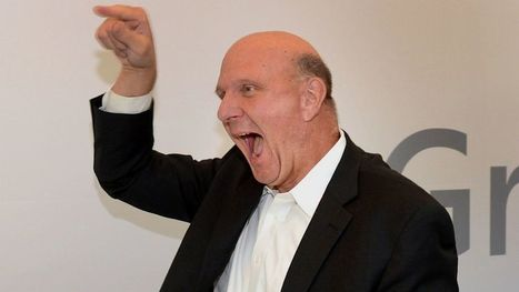 Steve Ballmer's Craziest Moments | Movin' Ahead | Scoop.it