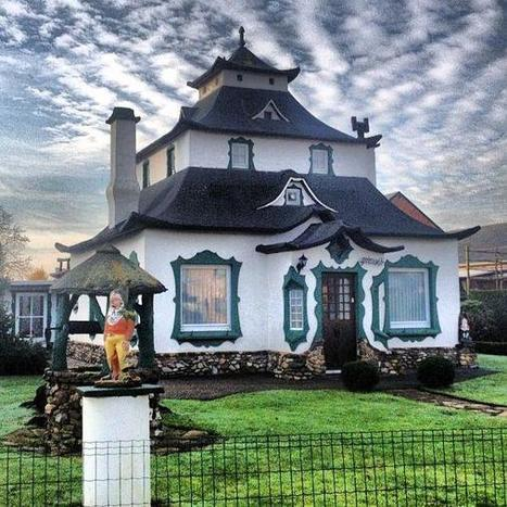 Les maisons les plus bizarres de Belgique | Belgitude | Scoop.it