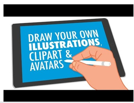 Free Technology for Teachers: Tony Vincent Teaches Us How to Make Great Illustrations | Professional Learning Promotion & Engagement | Scoop.it