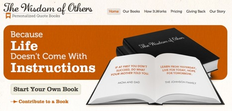 The Wisdom of Others | Personalized Quote Books | mobile devices and apps in the classroom | Scoop.it