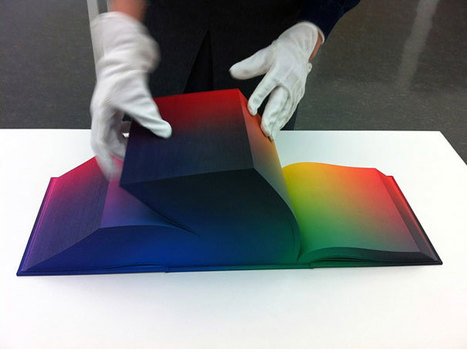 A Book That Shows Every Color Imaginable | Inspired By Design | Scoop.it