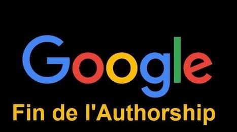 Google Authorship : C'est maintenant complètement terminé ! | webmarketing, stay tuned | Scoop.it
