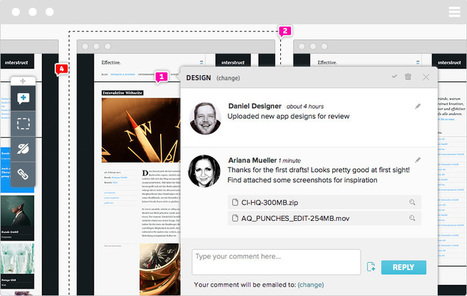 Feature Tour | Notism - Design Collaboration & prototyping Tool for creative teams | a lot of things.... | Scoop.it