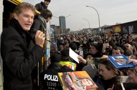 David Hasselhoff & Berlin Wall: The Hoff Lends Star Power To New Campaign - Huffington Post | David Hasselhoff News | Scoop.it