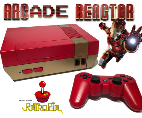 ARCade Reactor - RetroPie Gaming and Media System | Raspberry Pi | Scoop.it