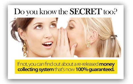 Do you know the SECRET too? | Earning Money On The Internet | Scoop.it