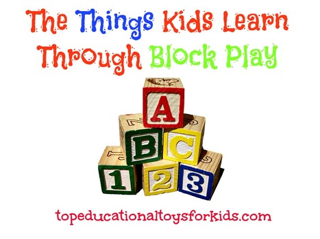 Building Blocks for Toddlers and Babies: The Things Kids Learn | Child's Play, Education & Development | Scoop.it