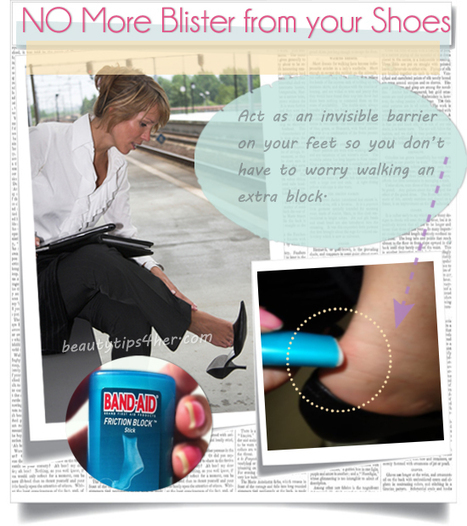 Feet Blisters : How to Avoid Them – A Quick Tip for Happy Feet   Beauty Tips 4 Her   Scoop.it