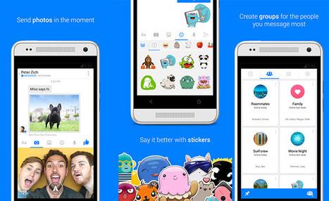 Souriez, Facebook Messenger peut maintenant envoyer des clips vidéo de 15 secondes sur iOS | Développement sites Web originaux | Scoop.it