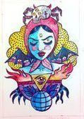 Marie Meïer, goth'n'roll graphic blog: Baba Vanga | My Artwork | Scoop.it