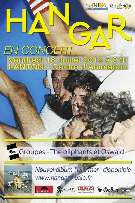 Concert de Hangar 2014 à Lanton - Gironde / FOXOO | Coeur du Bassin d'Arcachon | Scoop.it