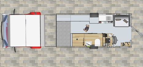 Dorm-room top view | Technology into Architecture | Scoop.it