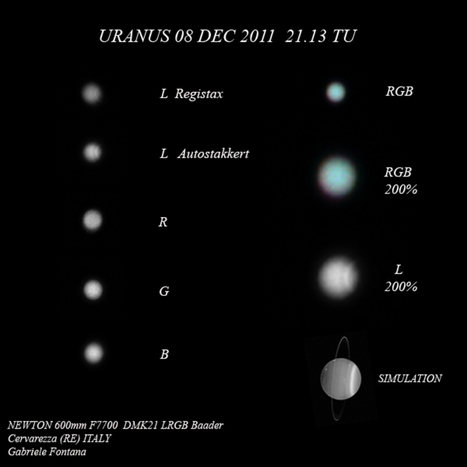 Uranus February 11 2012 Amateur Astronomy Picture of the Day - Astronomy.FM | Exploring Amateur Astronomy | Scoop.it