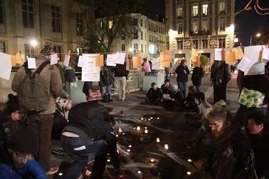 Une ZAD s'est installée durant la nuit en plein Rouen | Autres Vérités | Scoop.it