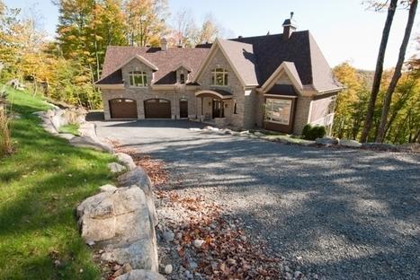 Tranquil Estate | 90 Ch. de la Voie-Lactée, Saint-Sauveur, QC | Luxury Real Estate Canada | Scoop.it