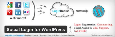 Make Your WordPress Site Social With LoginRadius | Binterest | Scoop.it