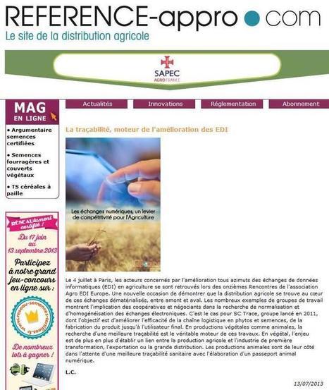 Twitter / AgroEDIEurope: Un article sur nos Rencontres ... | Agriculture de Précision | Scoop.it