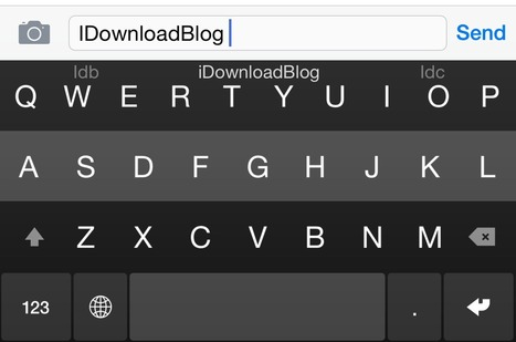 Fleksy Keyboard can now use iOS typing shortcuts | iDownloadBlog | How to Use an iPhone Well | Scoop.it