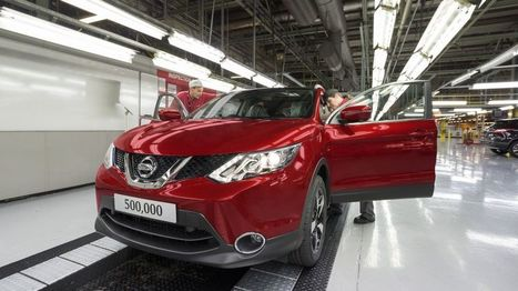 Nissan to build new models in Sunderland - BBC News   Insights into Business Economics   Scoop.it