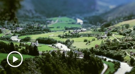 Norway Becomes A Miniature Wonderland In This Tilt-Shifted Time-Lapse | Everything from Social Media to F1 to Photography to Anything Interesting | Scoop.it