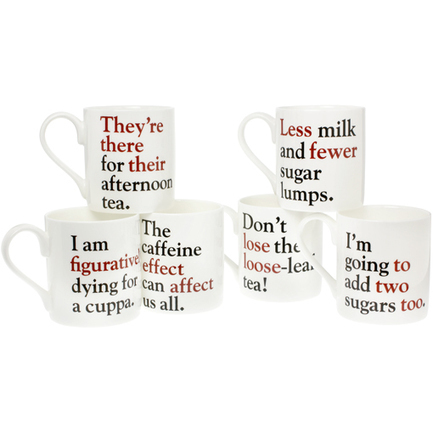 For Grammar Nazis: amusing mugs that make sure you use the correct words | eclectic.e-stuff | Scoop.it