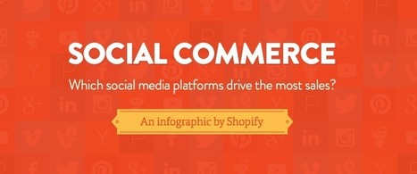 Which Social Media Platforms Drive the Most Sales? [Infographic] – Shopify | S-Commerce | Scoop.it