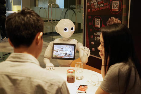 MasterCard, Pizza Hut Asia try robotic commerce: Pepper will take your order now | ZDNet | web digital strategy | Scoop.it