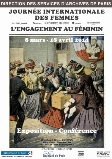 L'engagement au féminin exposé aux Archives de Paris | Rhit Genealogie | Scoop.it