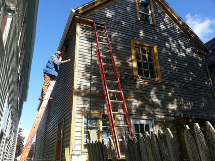 """Saving older houses from the """"vacancy vortex,"""" a little at a time 