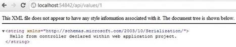 Using controllers from an external assembly in ASP.NET Web API - StrathWeb   .Net Web Development   Scoop.it