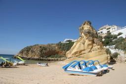 Algarve Beach Fisherman's Beach, Albufeira | Images Traveling | Scoop.it