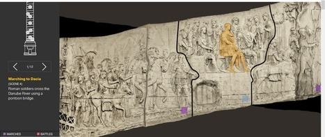 HistTech: Trajan's Column Interactive Graphic | Humanidades digitales | Scoop.it