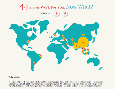 How Many Slaves Work For You? - Goodnet | A WORLD OF CONPIRACY, LIES, GREED, DECEIT and WAR | Scoop.it