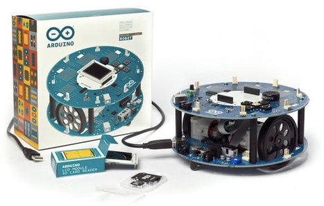 Arduino Unveils the Arduino Robot at Maker Faire | Embedded Software | Scoop.it