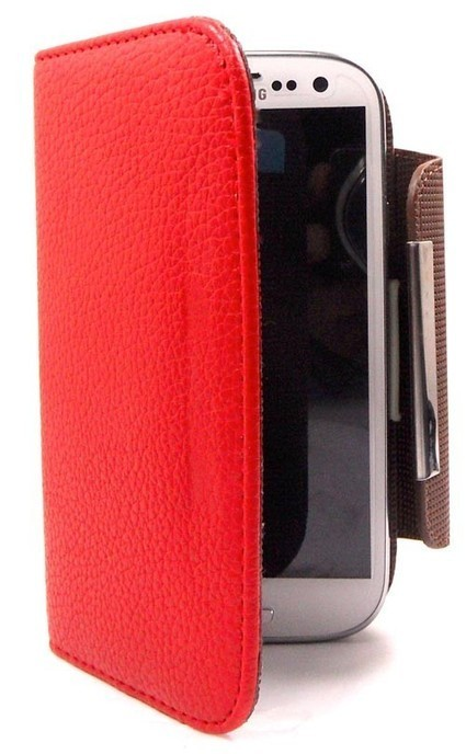 (Red) Foilo Wallet Leather Case for Galaxy S34G - Samsung Mobile Accessories - Mobile accessories | Mobile Phone Accessories | Scoop.it