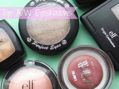 Raspberrykiss | UK Beauty Blog: Top Autumn Winter Eyeshadows | Beauty | Scoop.it