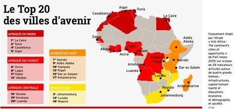 Le Top 20 des villes d'avenir en Afrique! | Afrique, une terre forte et en devenir... mais secouée encore par ses vieux démons | Scoop.it