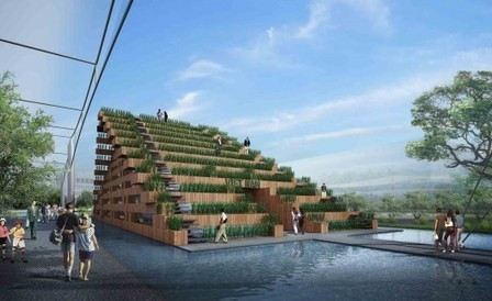 [Milan, Italy] Vietnam's Pavilion at Expo 2015 Competition Entry / H&P Architects | The Architecture of the City | Scoop.it