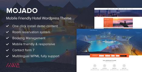 Mojado - Mobile Friendly Hotel WordPress Theme (Travel) - Creative WordPress Theme | Creative Wordpress Theme | Scoop.it