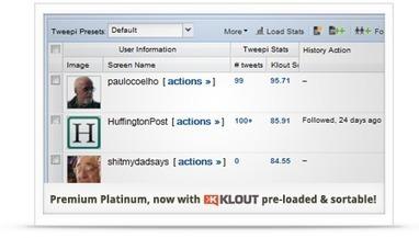 Tweepi :: manage your Twitter account | Tools, Apps, Solutions | Scoop.it