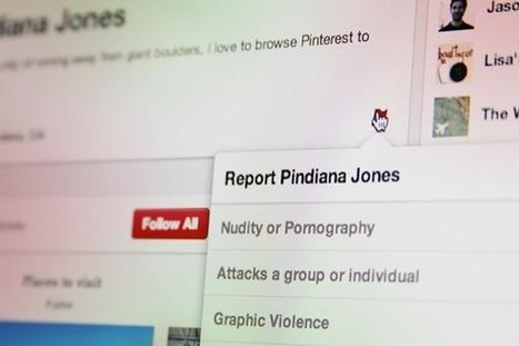 Bloquer un utilisateur Pinterest, c'est désormais possible | Réseaux sociaux | PME | Scoop.it