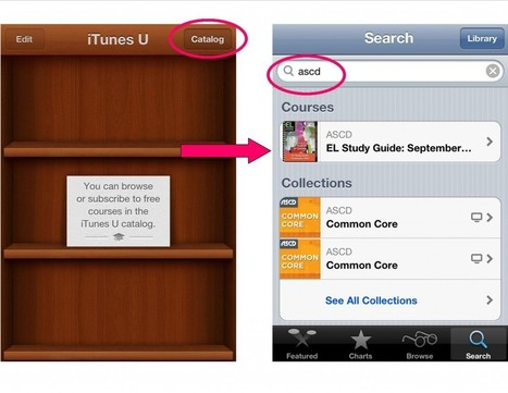 Educational Leadership Introduces New iTunes U Courses   ASCD Inservice   Cuppa   Scoop.it