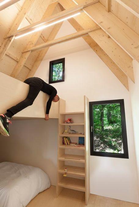 Charmante résidence secondaire en bois près d'un lac québécois | Construire Tendance | Dans l'actu | Doc' ESTP | Scoop.it