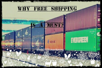 Why Free Shipping is a Must for Retail Sites? ~ Ads2020 Blog - Free Marketing via Ads, SEO, Traffic | Online advertising | Scoop.it